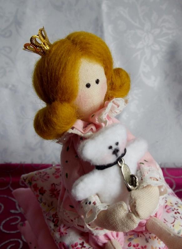 Тильда-принцесса на горошине (старшенькая)