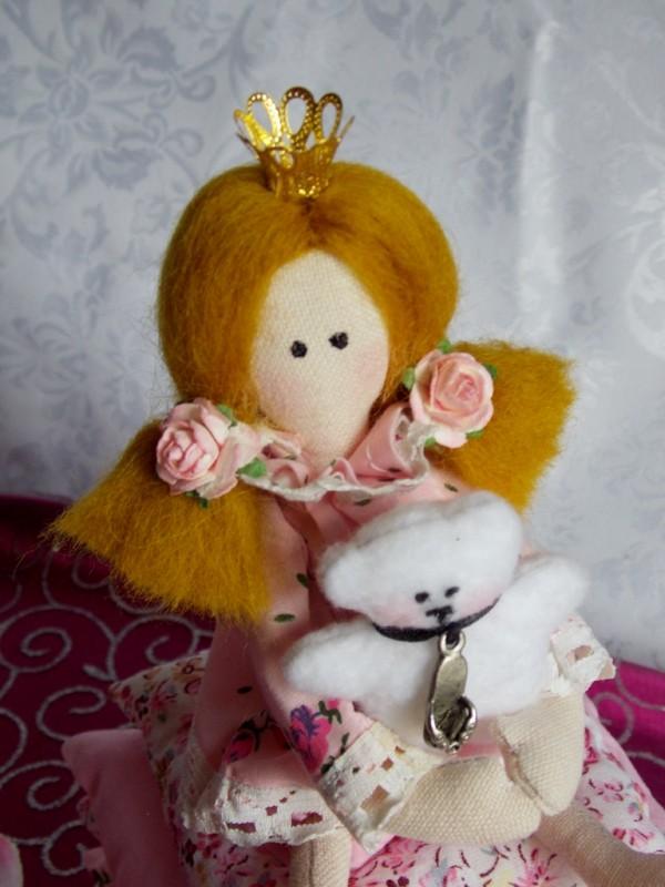 Тильда-принцесса на горошине (младшенькая)