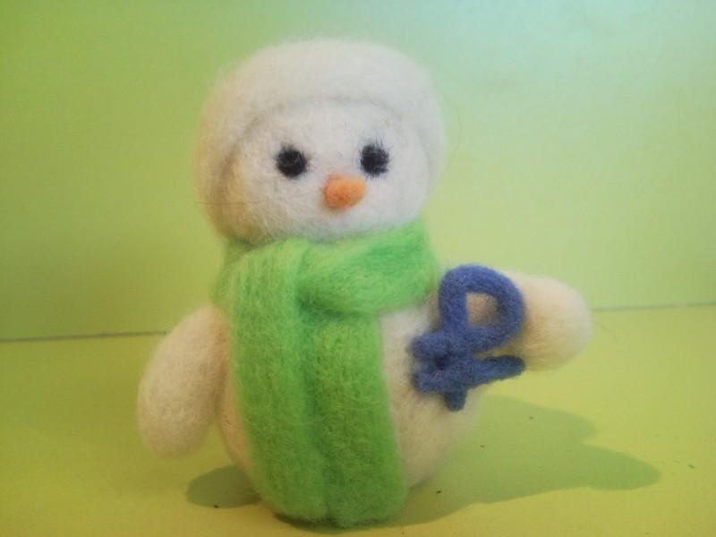 Снеговик с валютой