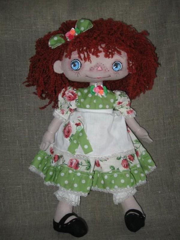 Кукла текстильная  АННА.