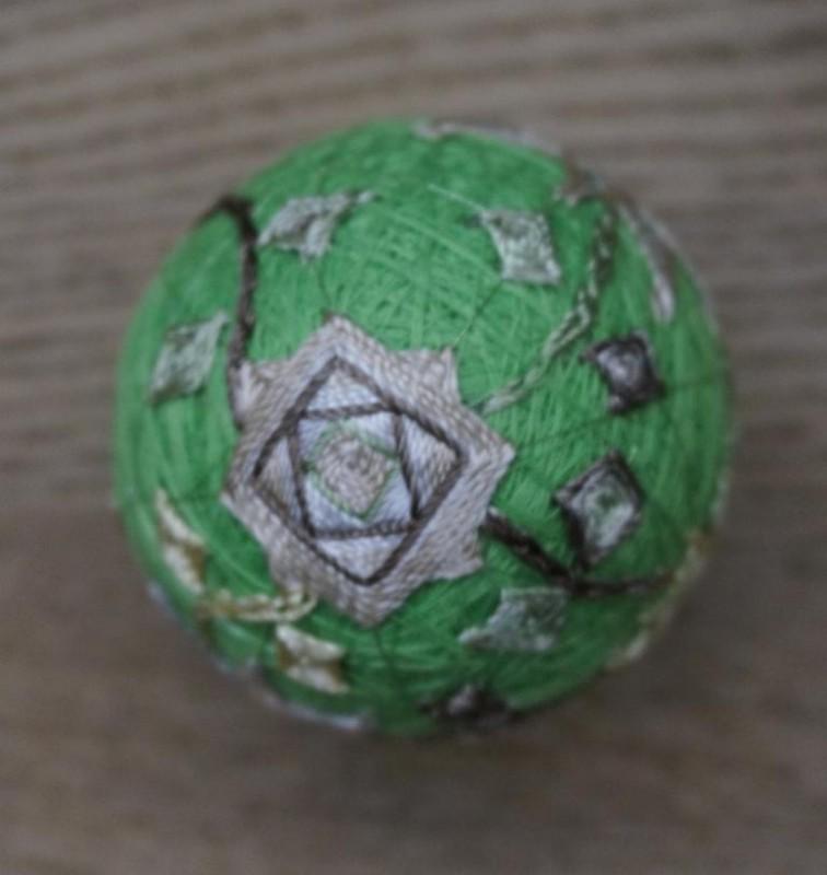 Японский шарик Темари