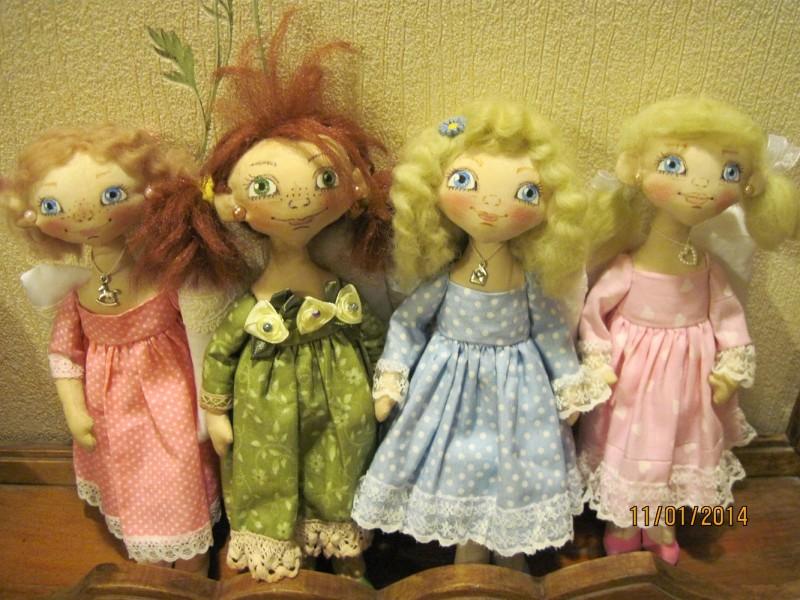 Ангелочки (в голубом платьице продана)