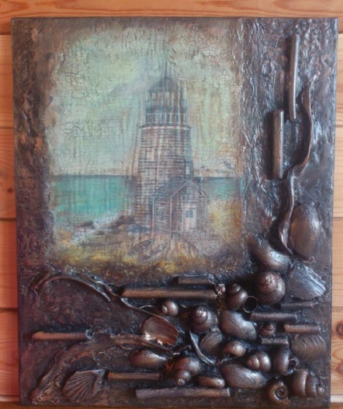 Панно Старый маяк
