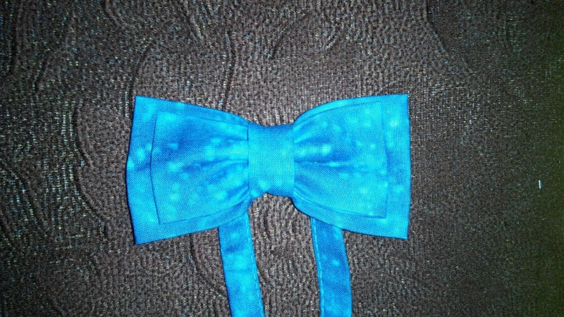 Бабочка-галстук на застежке