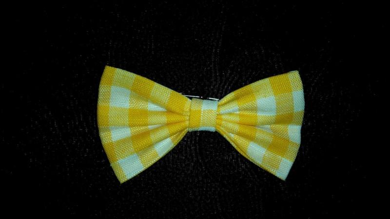 Бабочка галстук на застежке-фибула