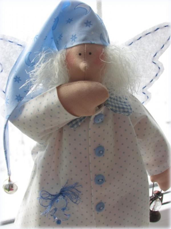 Сплюшкин в голубой пижамке