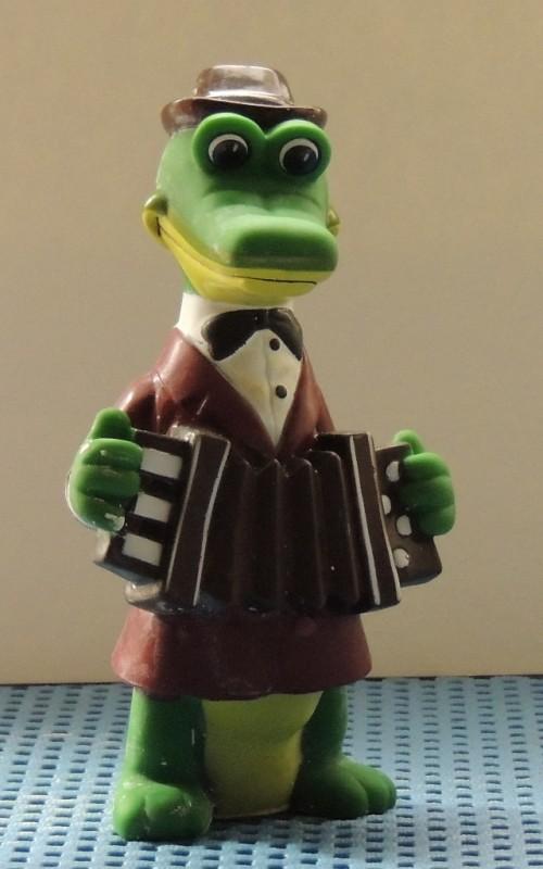 Гипсовая раскраска Крокодил Гена и Чебурашка