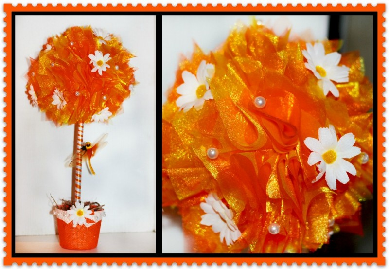 Топиарий Оранжевое настроение.