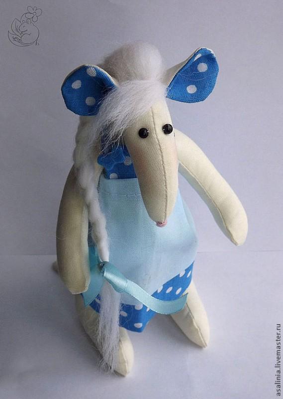 Тильда. Крыска в голубом