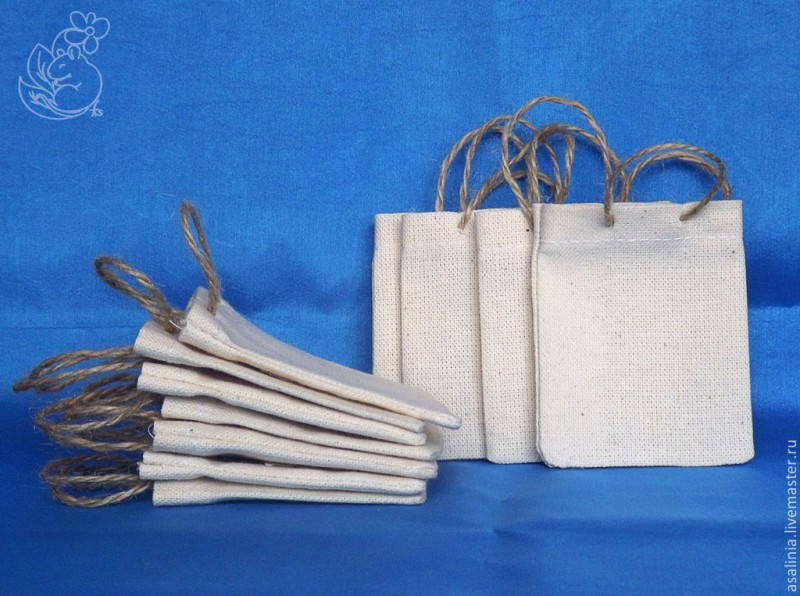 Текстильный пакетик (маленький)