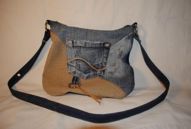 Маленькая джинсовая сумочка