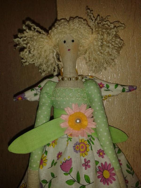 Цветочный Ангел-Зеленый горошек