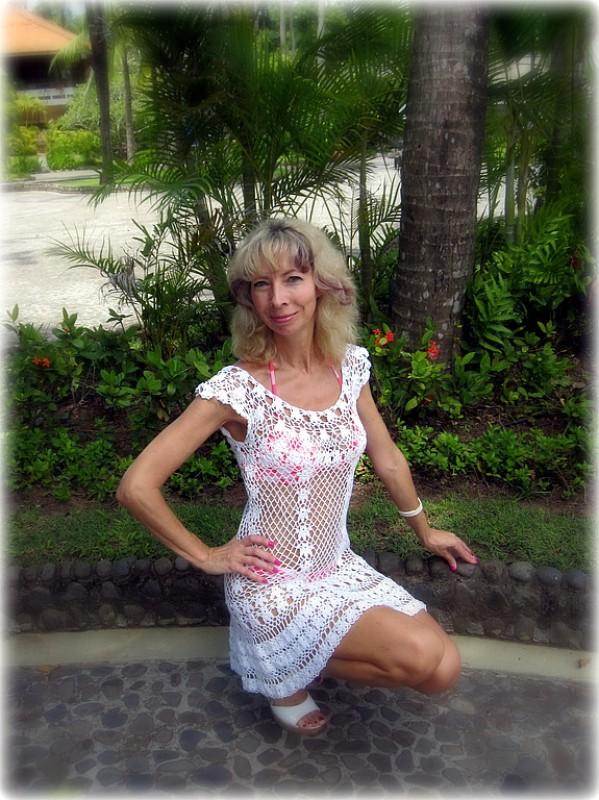 Пляжное платье Анна