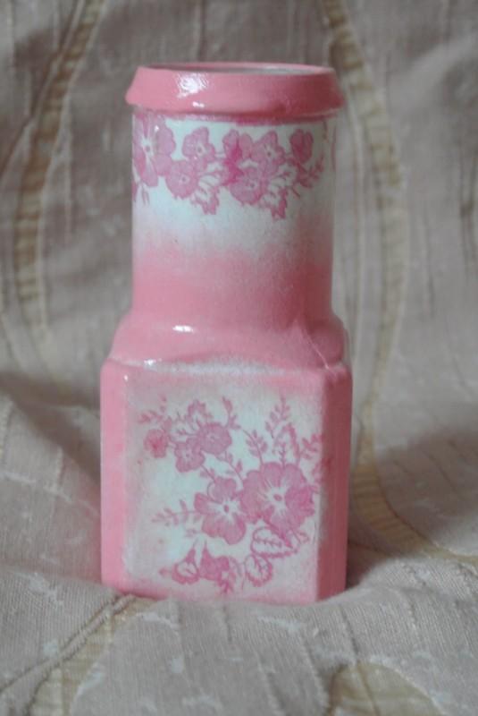 Бутылочка декорированная