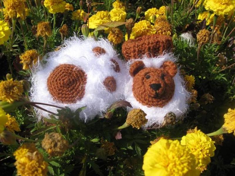 Пинетки Веселые медвежата