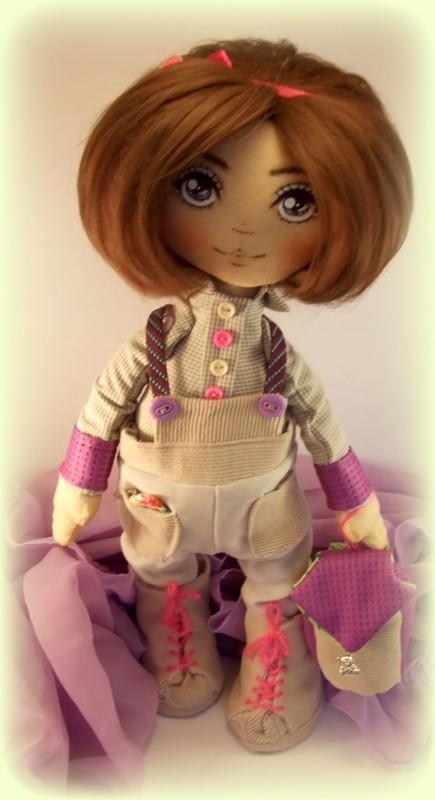 Текстильная кукла Изабель