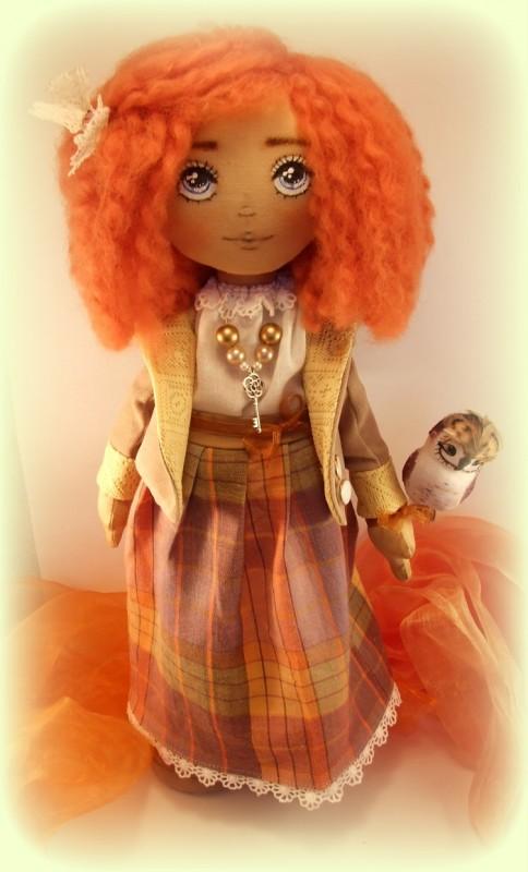 Текстильная кукла Эвелин