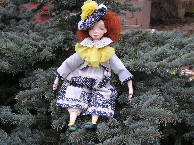 Подвижная куколка Ириска...