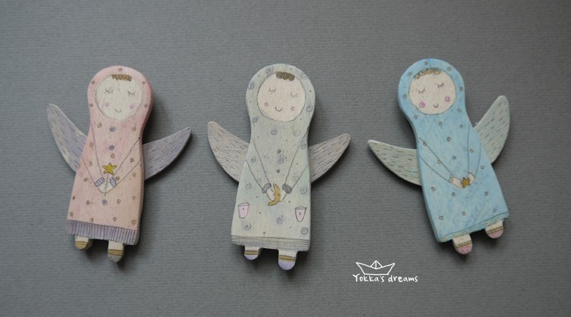 магниты Ангелы