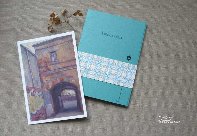 Набор открыток Город