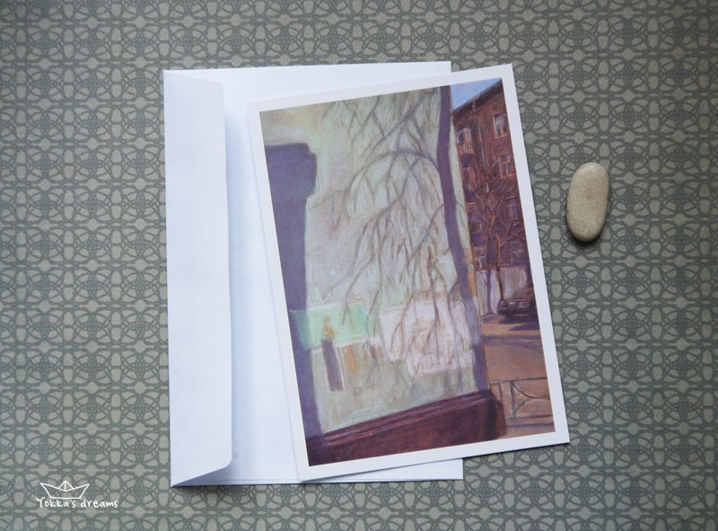 открытка № 6  Wall