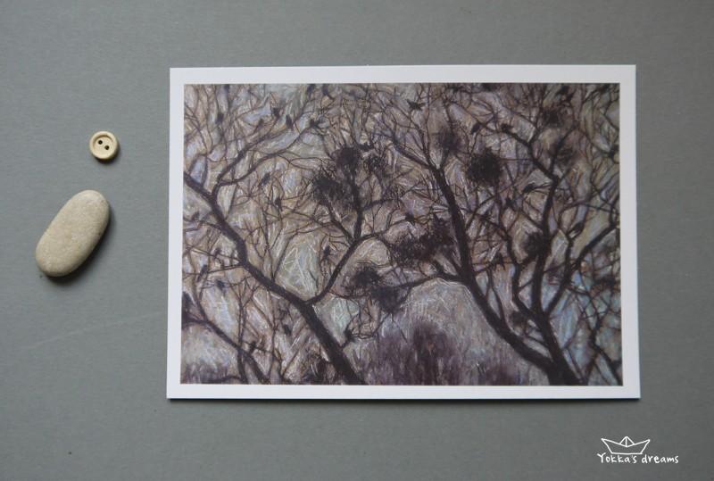 открытка 10  Nests