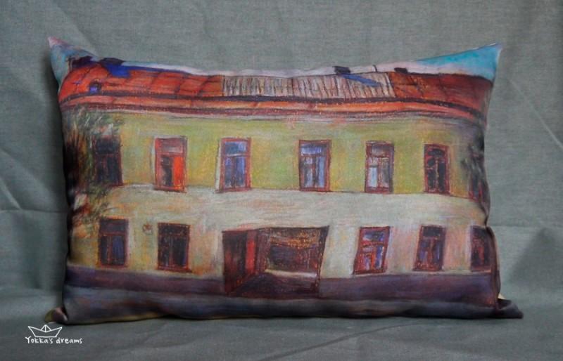 подушка  Город  № 3