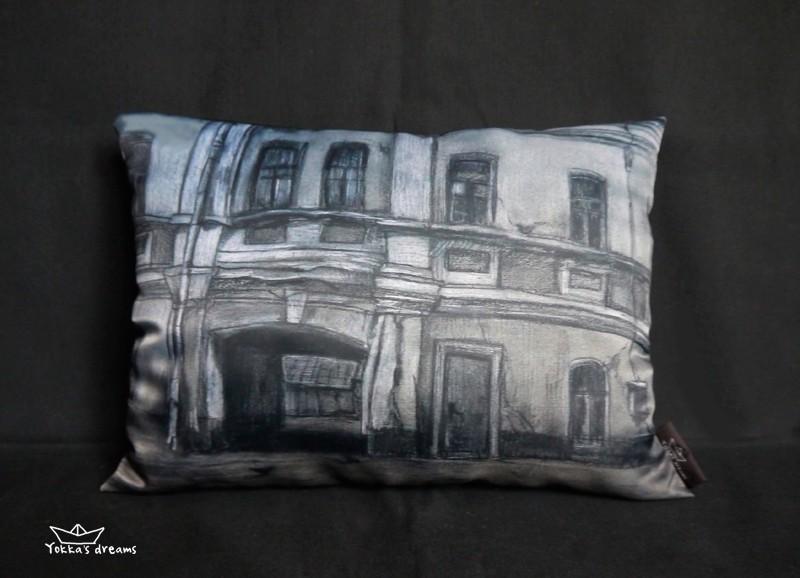 подушка  Город  № 4