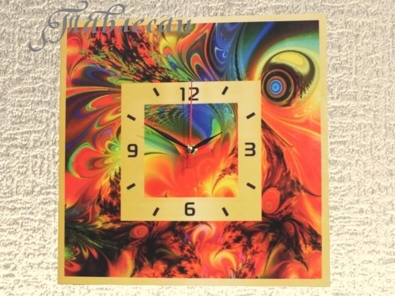 Настенные часы Перо Феникса