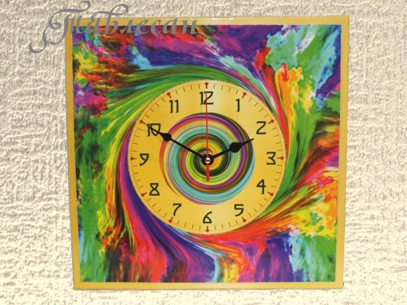Часы настенные Сполох большие квадратные в гостиную
