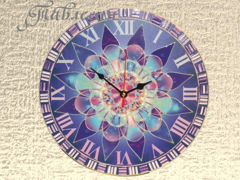 Часы настенные Северная звезда круглые в гостиную