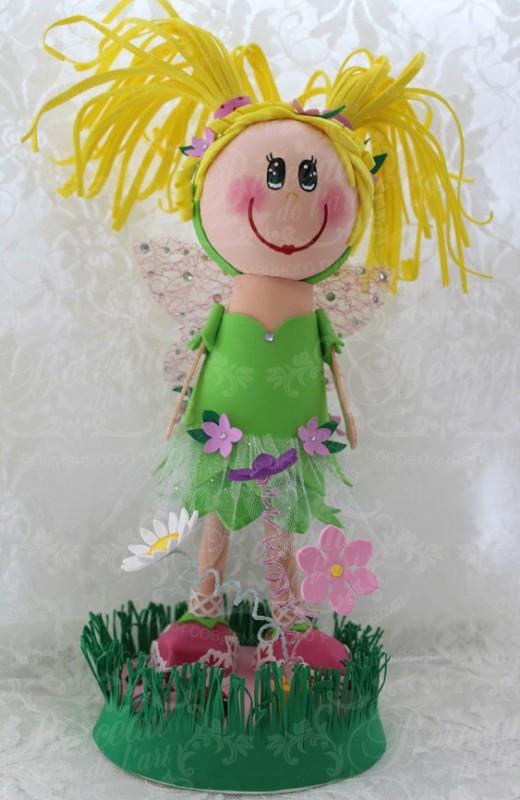 Интерьерная кукла Цветочная Фея