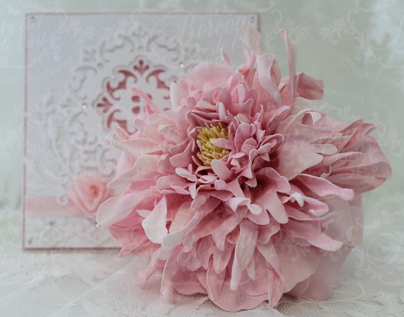 Нежный Фантазийный цветок
