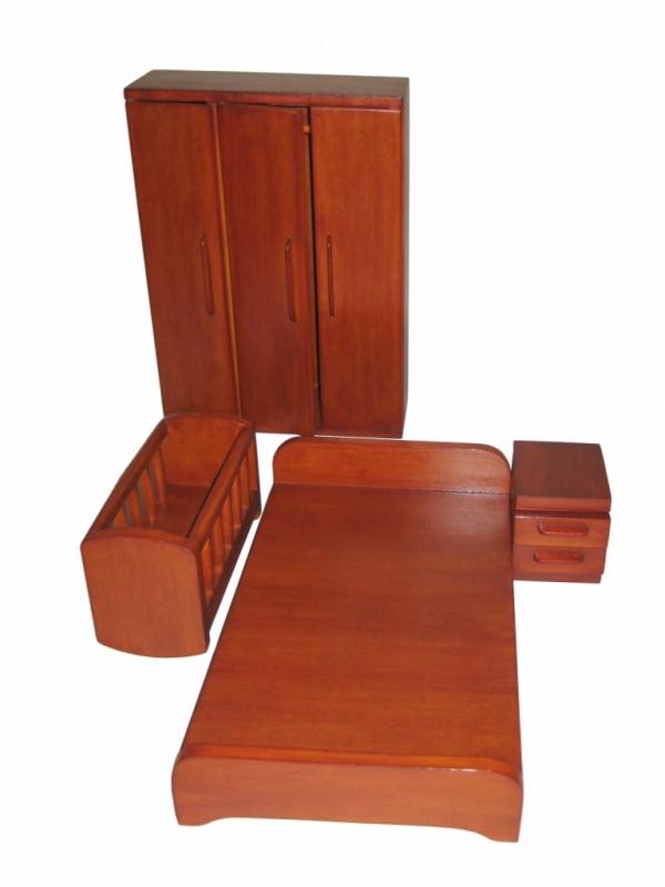 Деревянный набор «Спальня»
