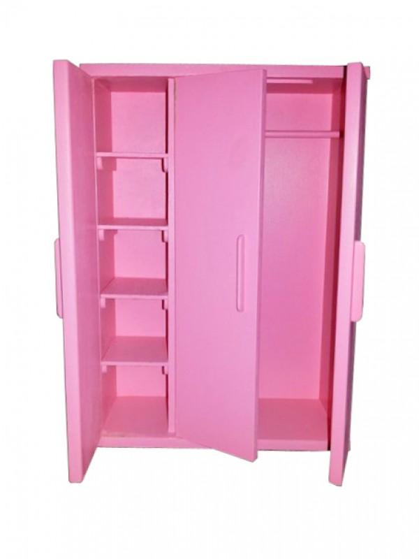 Шкаф плательный для кукол