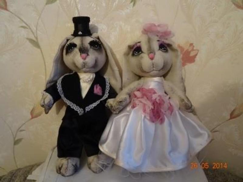 куклы зайки-женатики