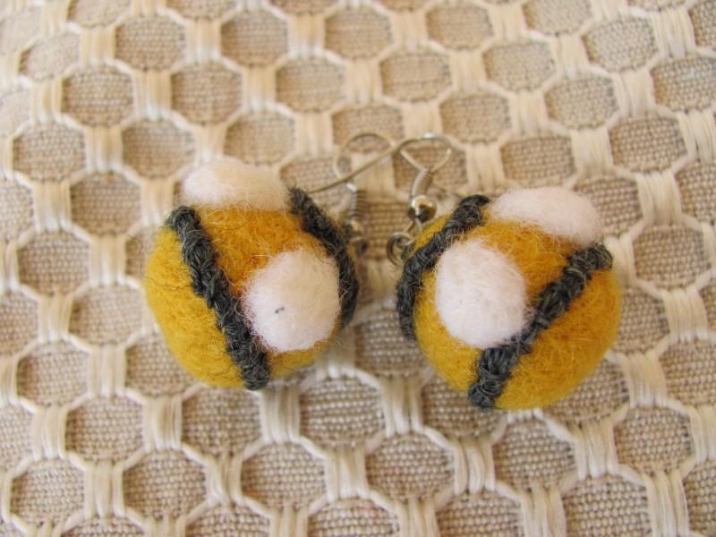 Серьги Пчёлки