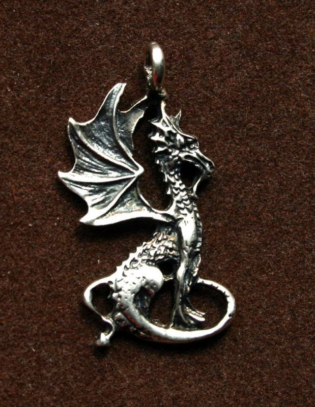 Кулон Дракон