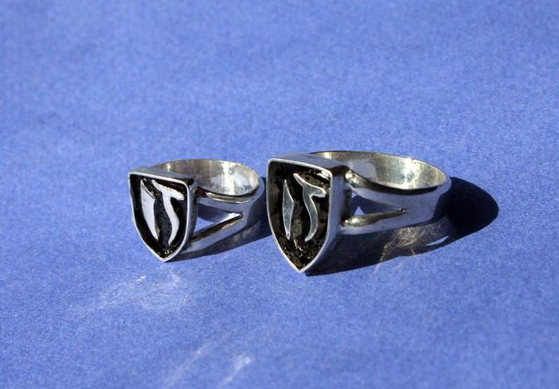 Обручальные кольца-печатки