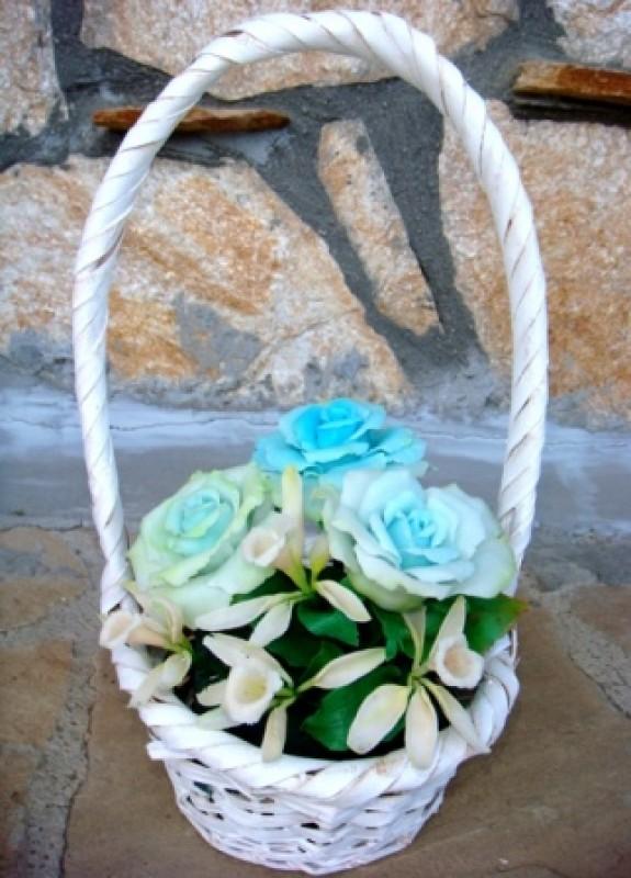 Очаровательный букет Ваниль и розы
