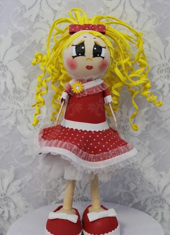 Интерьерная кукла Златовласка