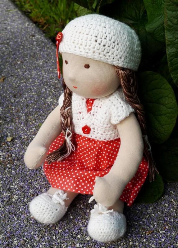 кукла Астра по мотивам вальдорфской