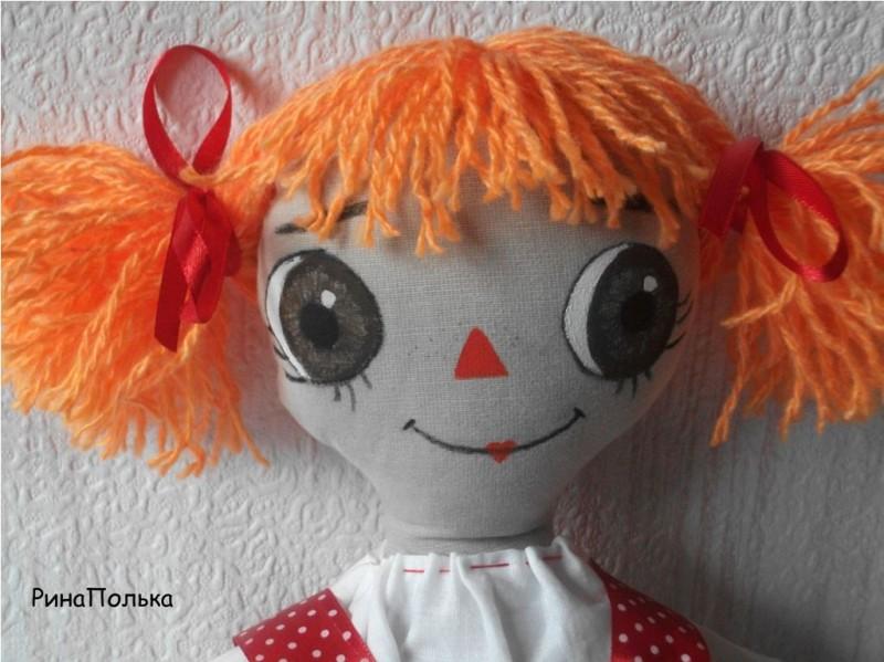 Кукла примитив Полинка!