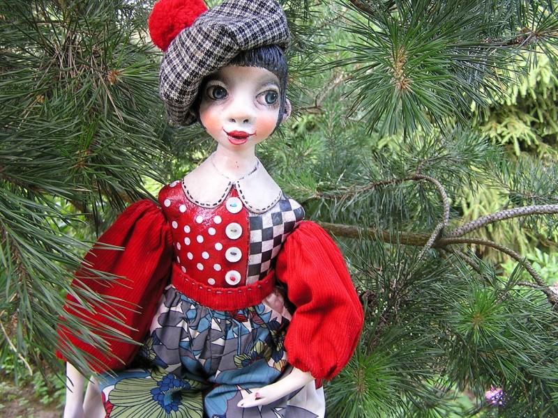 Будуарная кукла Загадка...