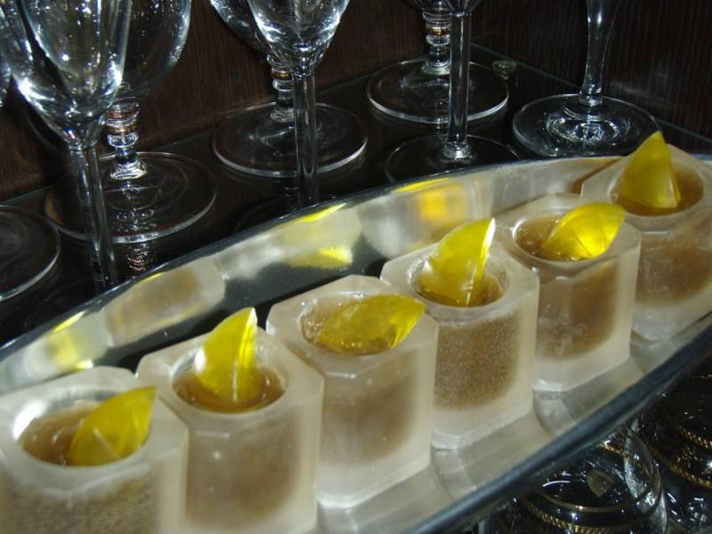 Мыло Стопки - коньяк с лимоном