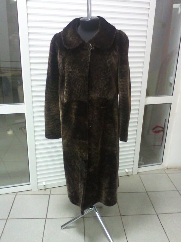 Женское меховое пальто