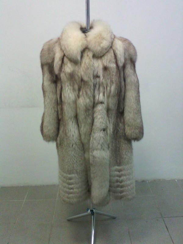 5.К.женское меховое пальто