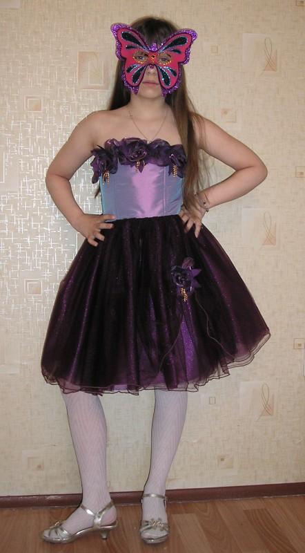 Коктейльное платье для девочки