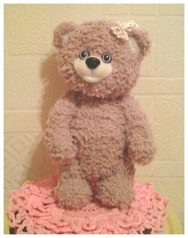 Тедди -мишка Пум.