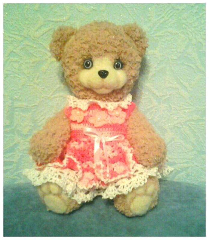 Тедди-мишка Лиза.